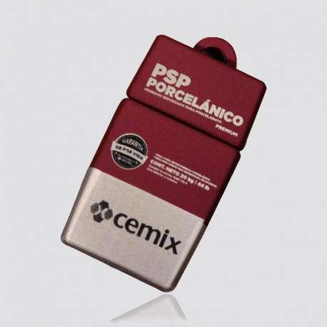 Memoria USB  promocional en forma de adhesivo CEMIX